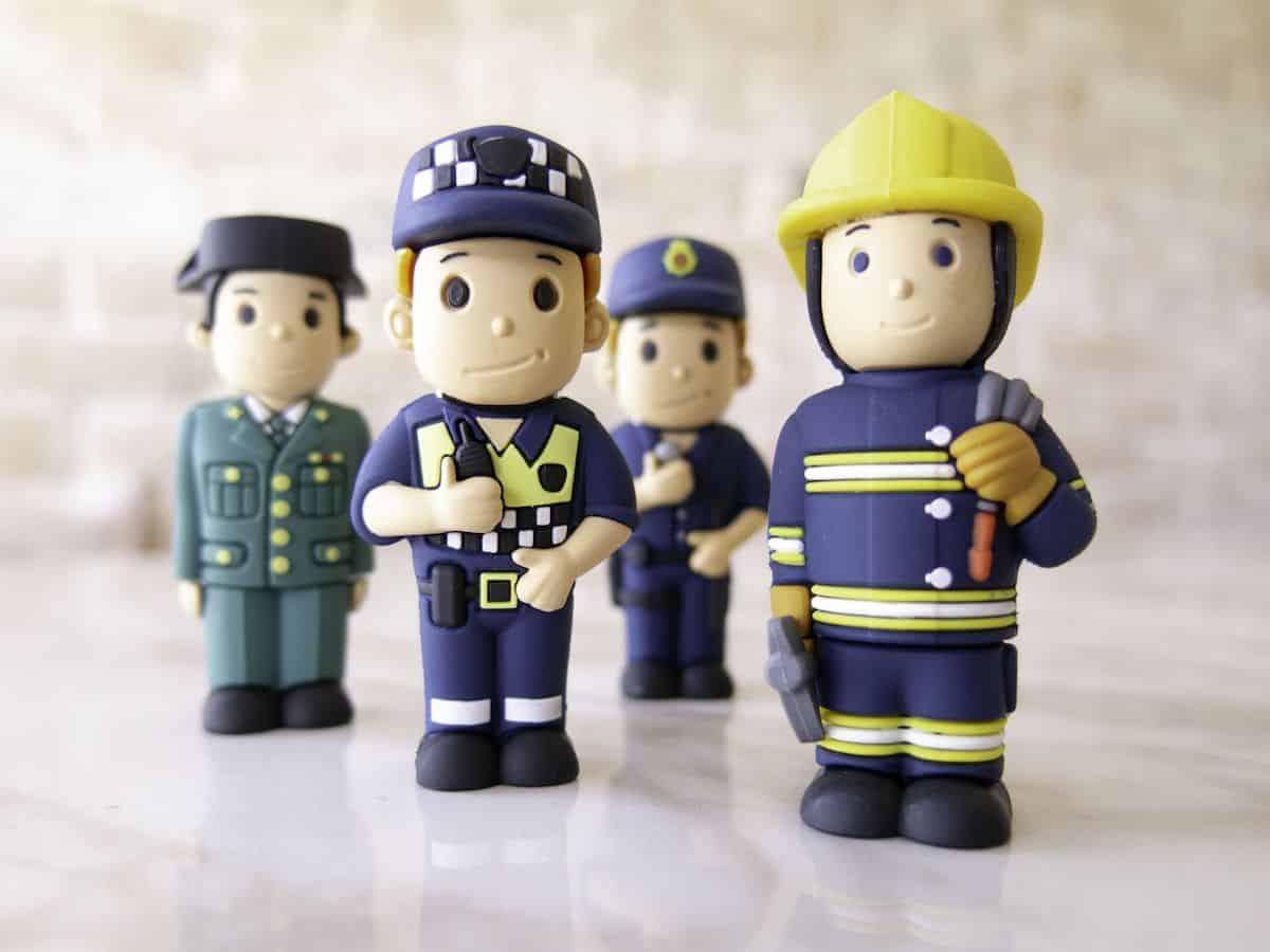 USB-stick brandweerman