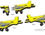 USB-stick Vliegtuig 2D