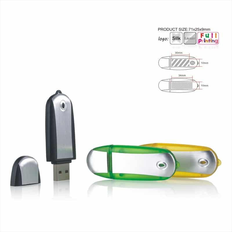 USB-stick Space - Ovaal