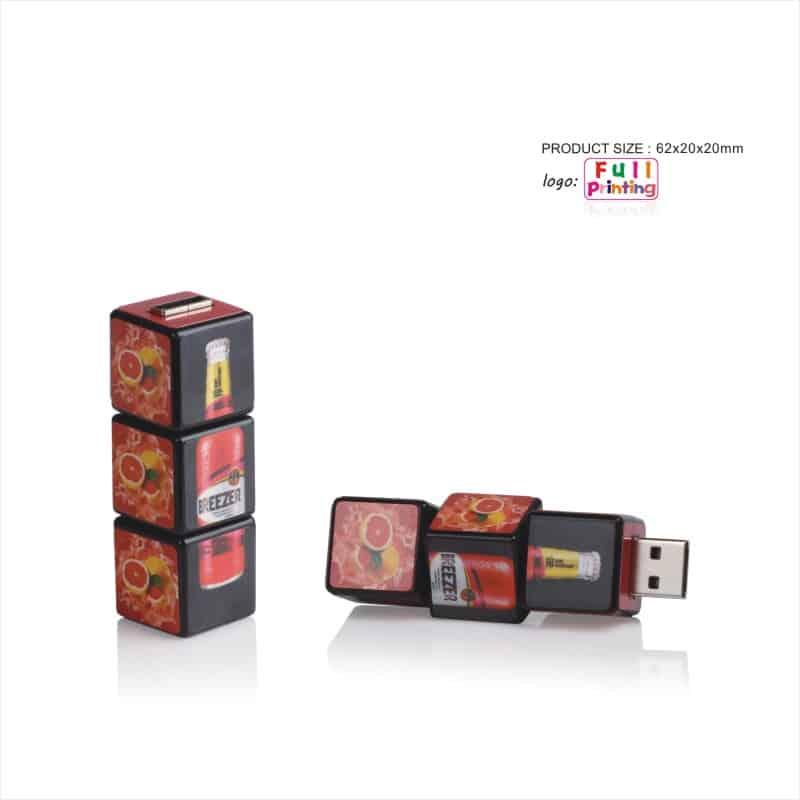 USB-stick Kubus - Blokjes - Afbeelding