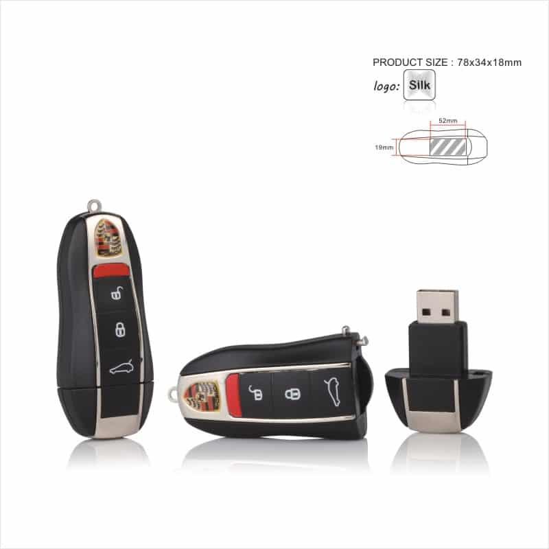 USB-stick (Porsche) - Autosleutel