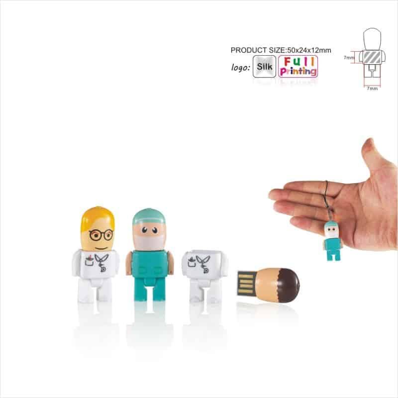 USB-stick Poppetje - Figuurtje