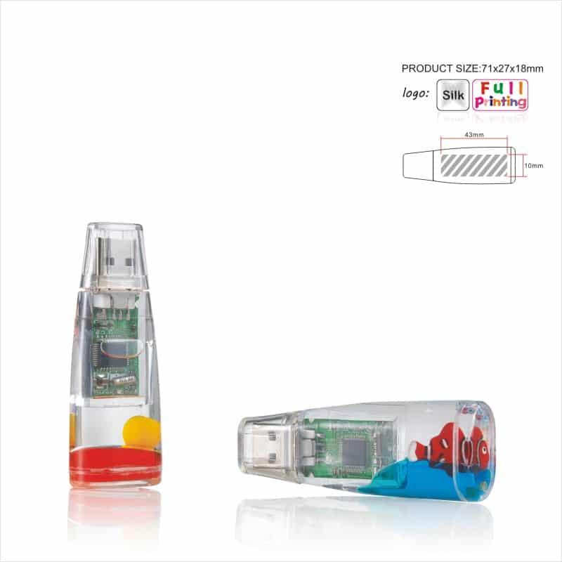 USB-stick Liquid - Aqua - Water
