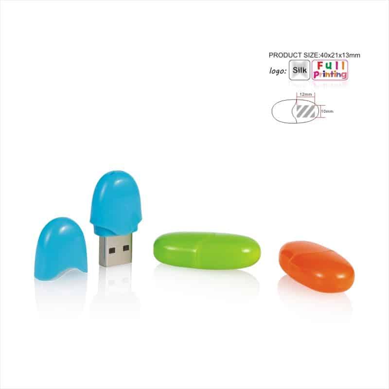 USB-stick Capsule - Ei - Ovaal