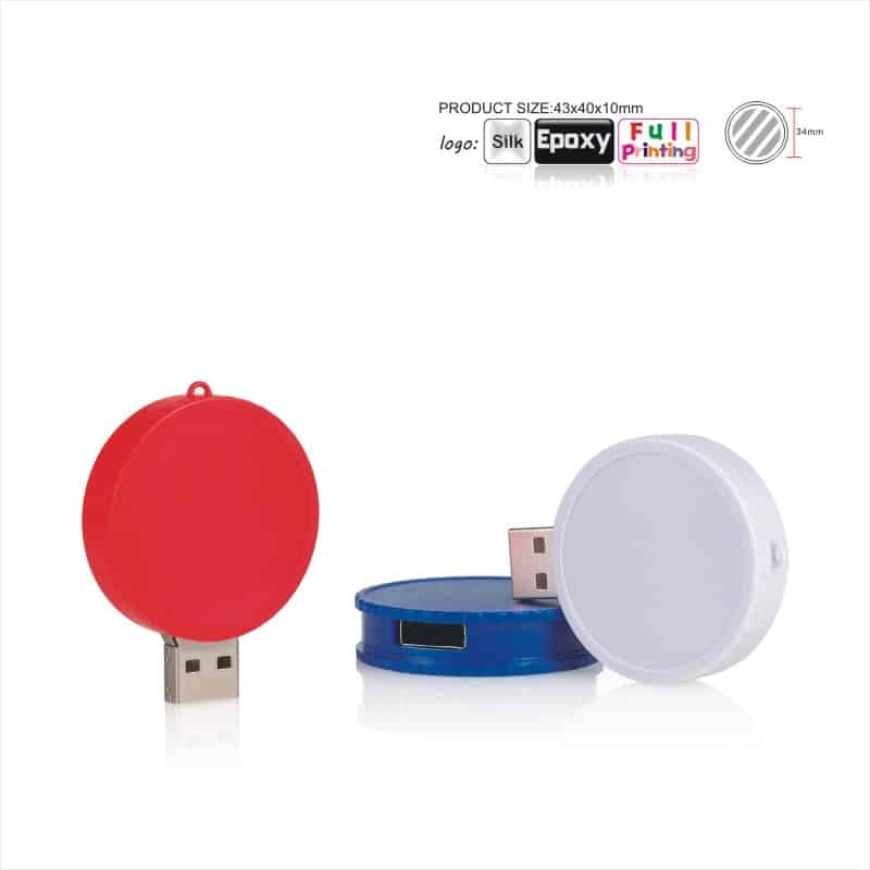 USB-stick Cirkel - Rond - Epoxy
