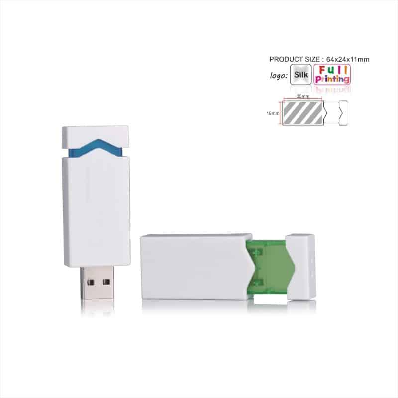 USB-stick Ice - Arrow - Line