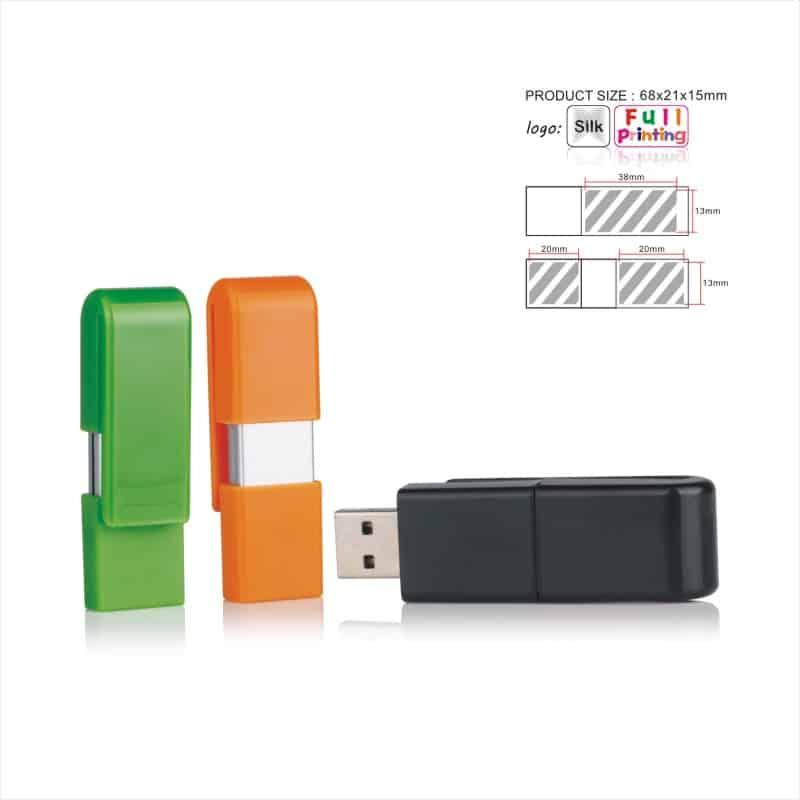 USB-stick Clip - Klem vast