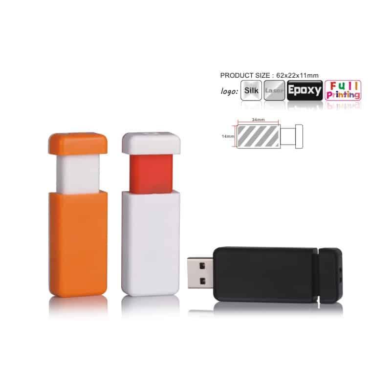 USB-stick Retractable - In/Uitschuifbaar