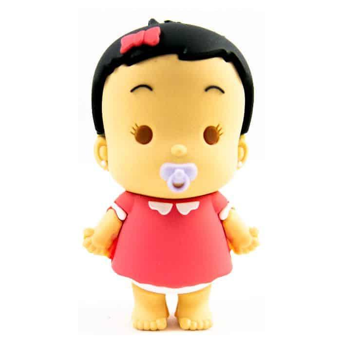 USB stick in de vorm van een baby meisje