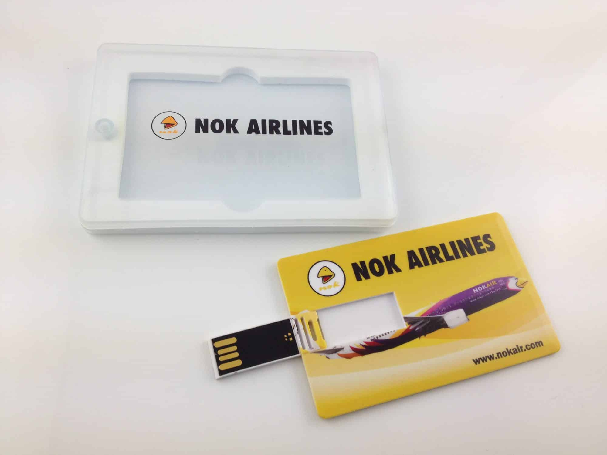 USB stick creditcard verpakking