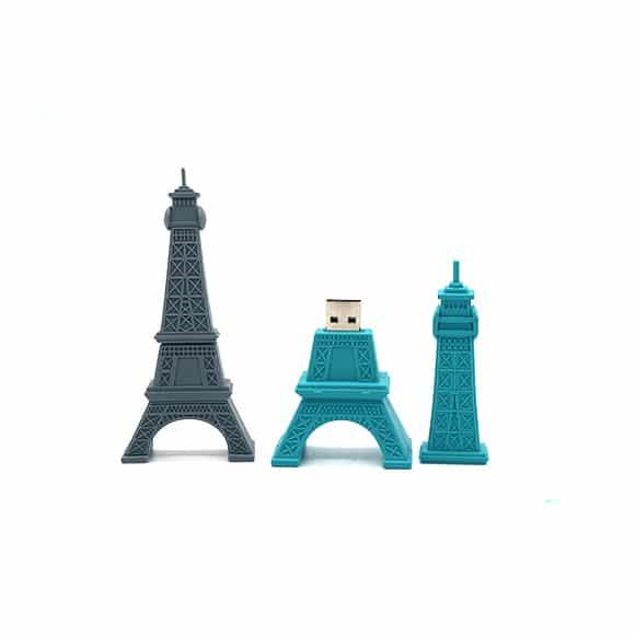 USB-sticks zoals USB-stick Eiffeltoren worden veel als relatiegeschenk gebruikt.