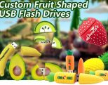 USB stick fruit met logo bedrukt