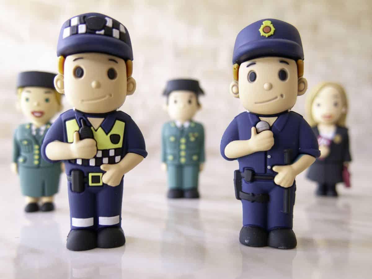USB-stick politieman